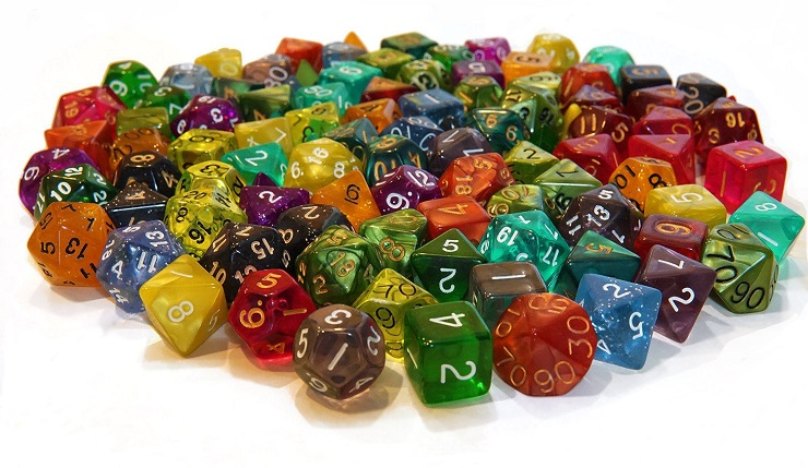 The Best D&D Dice and Dice Sets: 2019 Buyer's Guide | Geek + Leisure